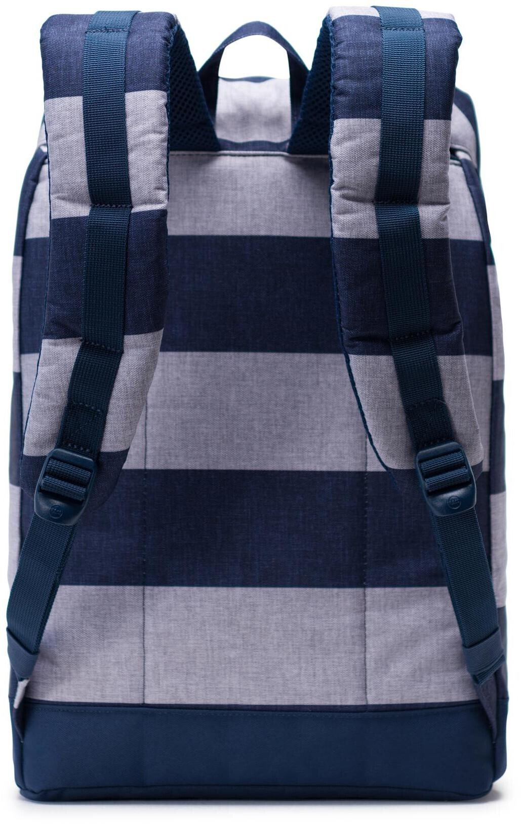 a9bc7f11593 Herschel Retreat Backpack 19,5l Unisex border stripe/saddle brown at ...